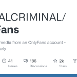 GitHub - DIGITALCRIMINAL/OnlyFans: Scrape all the media from an OnlyFans account