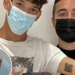 Italian student, 22, who tattooed Covid certificate barcode on ARM becomes TikTok star after scanning into McDonald's